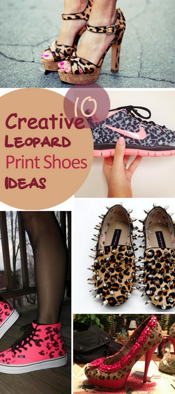 Creative Leopard Print Shoes Ideas!