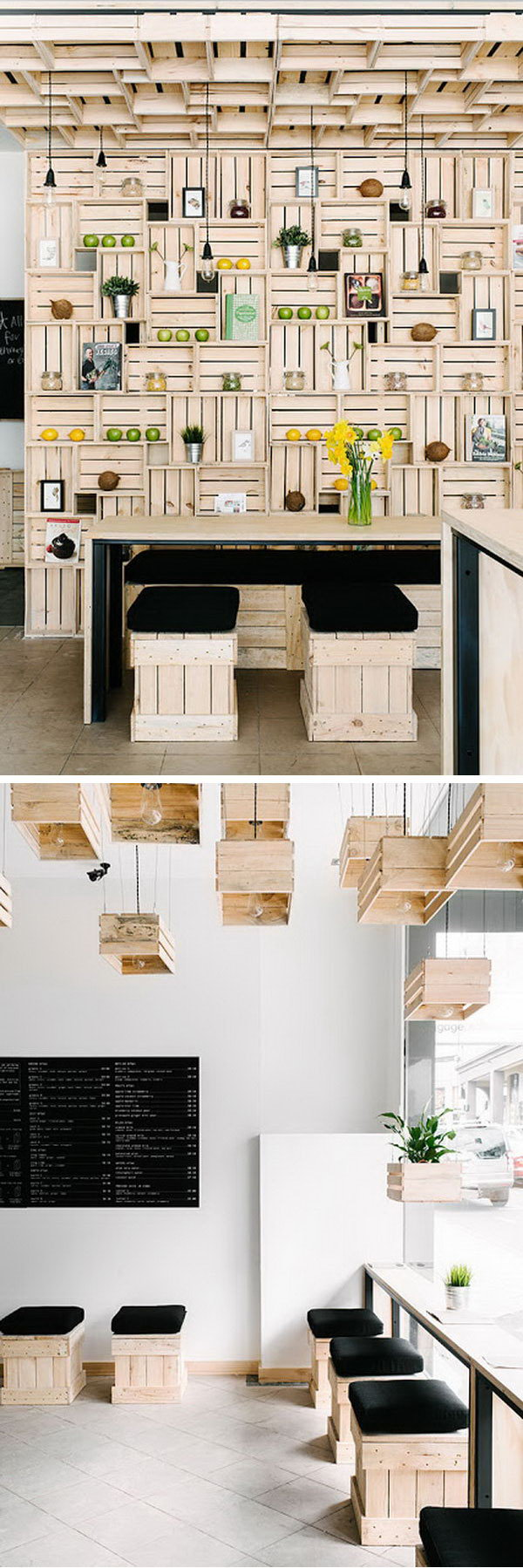 Diy Ideas With Milk Crates Or Wooden Crates Hative