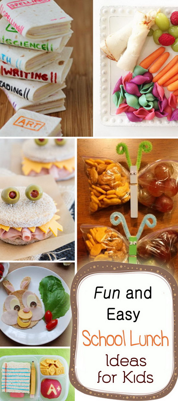 Fun and Easy School Lunch Ideas for Kids!