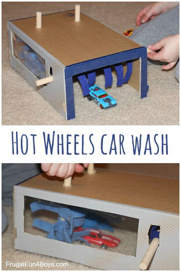 Recycled Crafts For Kids Shoe Box