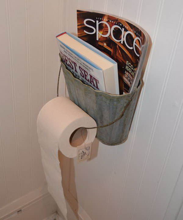 Clever Toilet Paper Storage Or Holder Ideas Hative