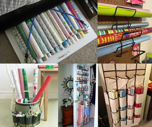 wrapping-paper-storage-collage