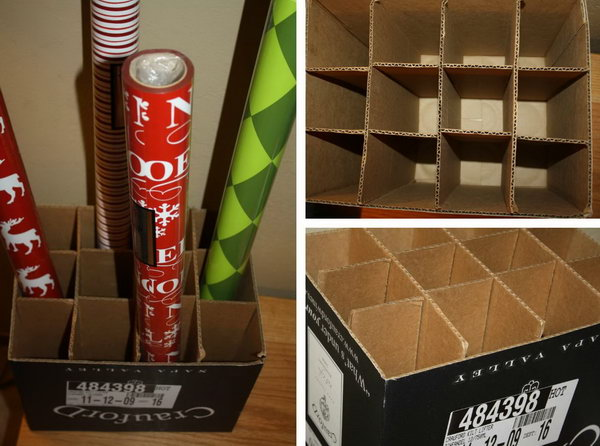 Christmas Paper Storage Box