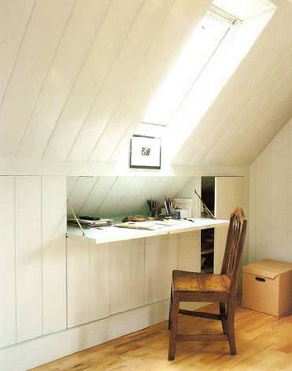 small attic storage ideas - Creative Attic Storage Ideas and Solutions Hative
