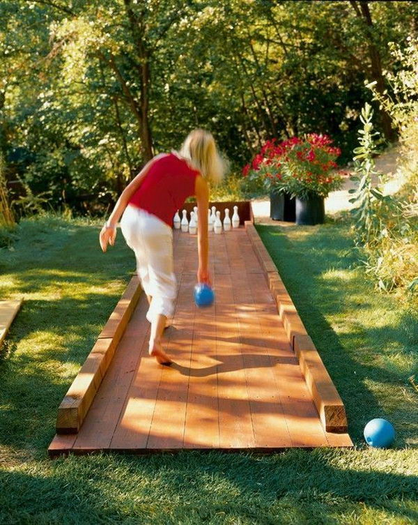 your backyard so simple and cheap to make and you could play them