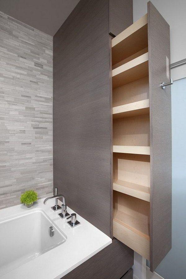 Diy Towel Rack Bathroom Small Spaces Shelves