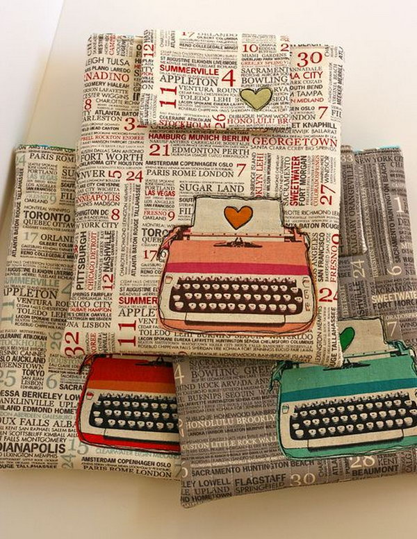 iPad case. If your best friend has an Ipad, then a beautiful handmade ipad case will be a wonderful present for him or her. It is quite thoughtful of you to make a nice ipad case for your bestie.