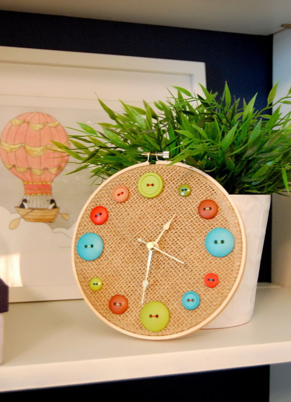 Fun and Cute DIY Button Crafts - Hative