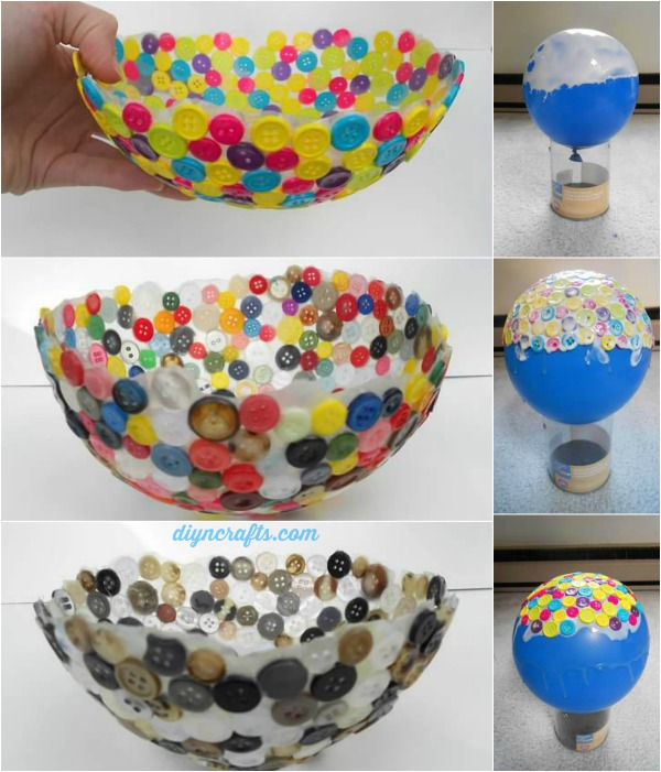 Fun and Cute DIY Button Crafts - Hative