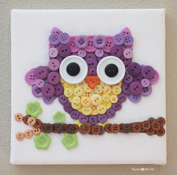 button craft ideas for kids and diy button crafts hative 5976