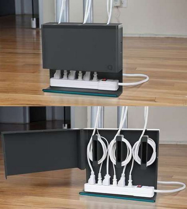 Office Gadgets Part - 27: Nothing Bothers Us More In The House Than Tangled Wires All Over The Place.  The