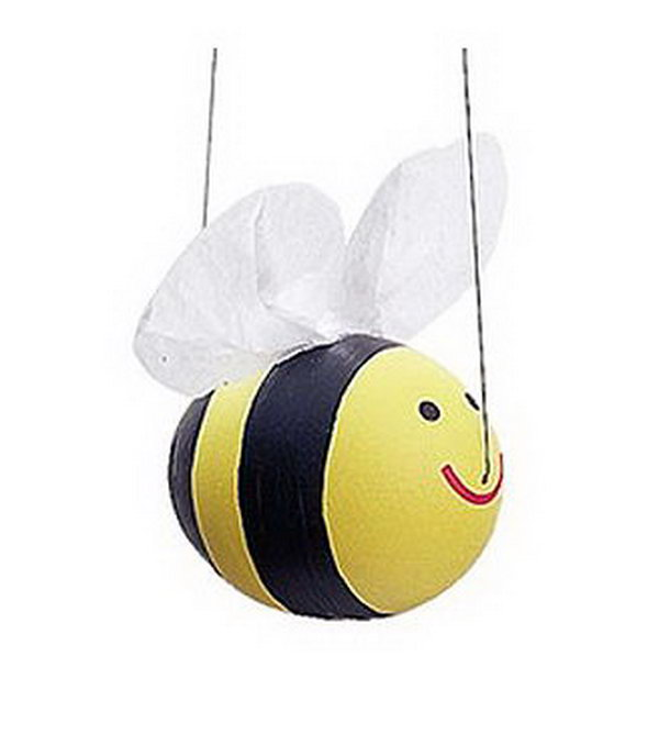 Just Three Simple Steps To Diy Your Hy Ble Bee Paint This Cute Fellow Yellow