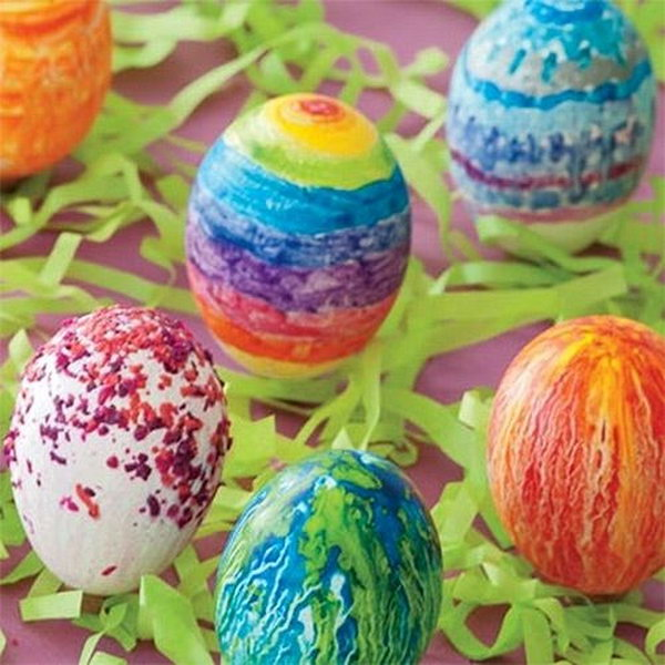 Cool Easter Egg Decorating Ideas