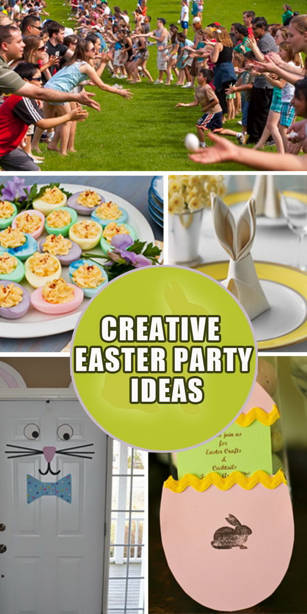 Creative Easter Party Ideas!