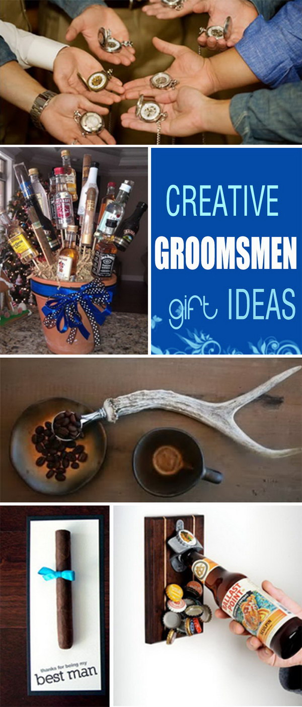 Creative Groomsmen Gift Ideas!