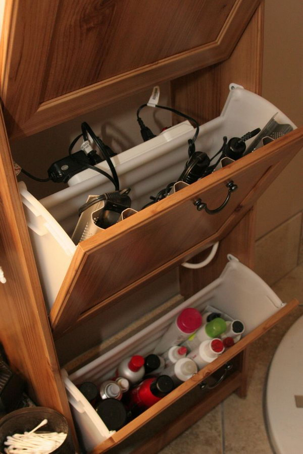 Bottom Of Bathroom Sink Organizer