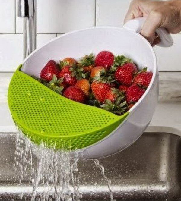 a cool kitchen product which allows you to wash your