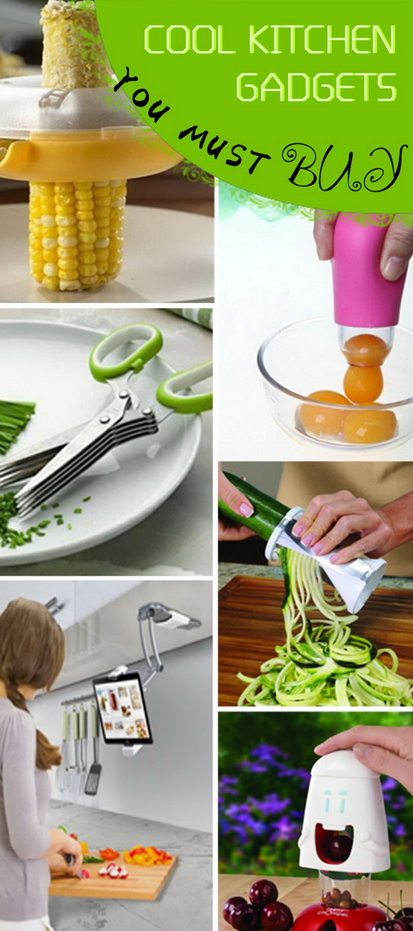Cool Kitchen Gadgets You Must Buy!