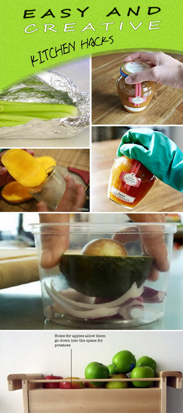 Easy and Creative Kitchen Hacks!