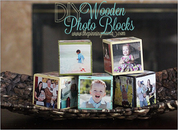 Diy Craft On Wood Blocks