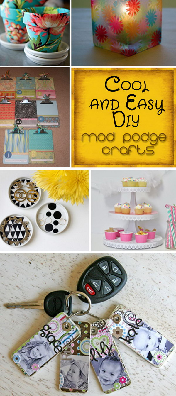 podge crafts diy mod easy cool useful modge hative craft pretty these projects cute paper glass simple box uses visiter