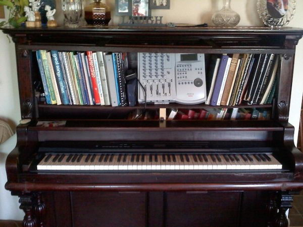 20 Creative Old Piano Repurposing Ideas Hative