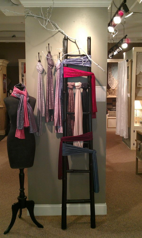30 creative scarf storage  u0026 display ideas