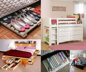creative under bed storage ideas for bedroom hative 20930 | under bed storage ideas collage