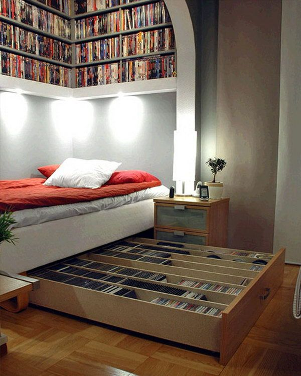 Clever Bed Ideas: Creative Under Bed Storage Ideas For Bedroom