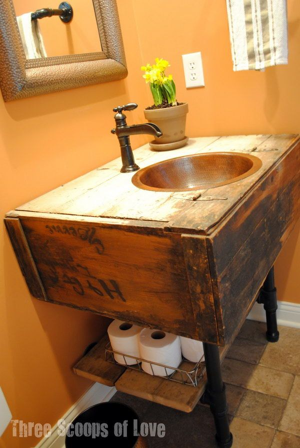 Creative under sink storage ideas hative - Under sink bathroom storage cabinet ...