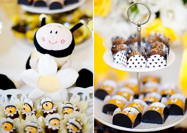 This Bee Themed Party Has A Fresh Look Just Like Spring It So