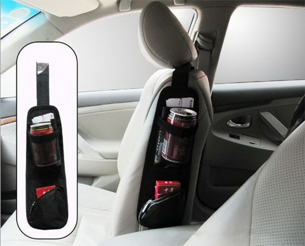 Seat Side Storage Pocket. You Can Get This One In A Store. It Can