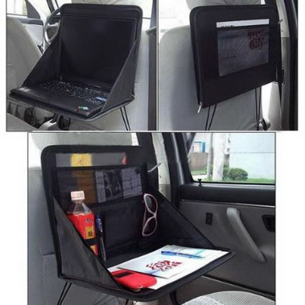 creative storage and organization ideas for your car hative. Black Bedroom Furniture Sets. Home Design Ideas