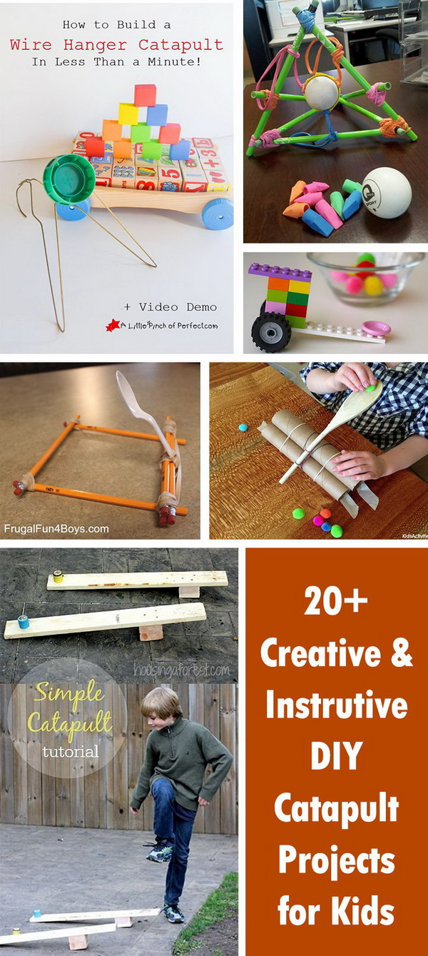 Creative and Instrutive DIY Catapult Projects for Kids!