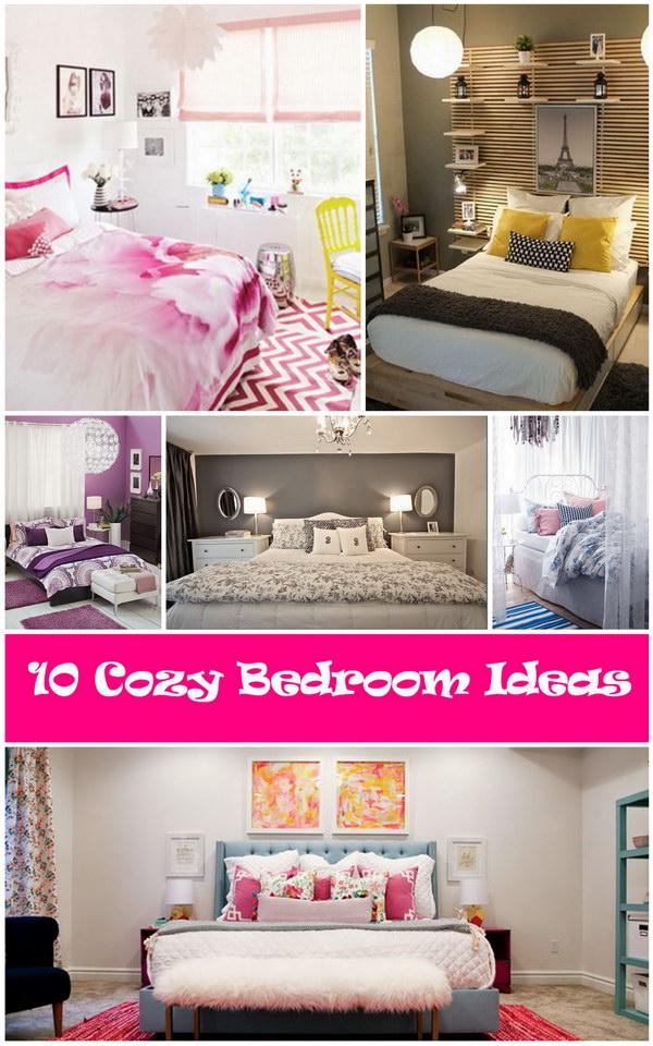 10 Cozy Bedroom Ideas - Hative