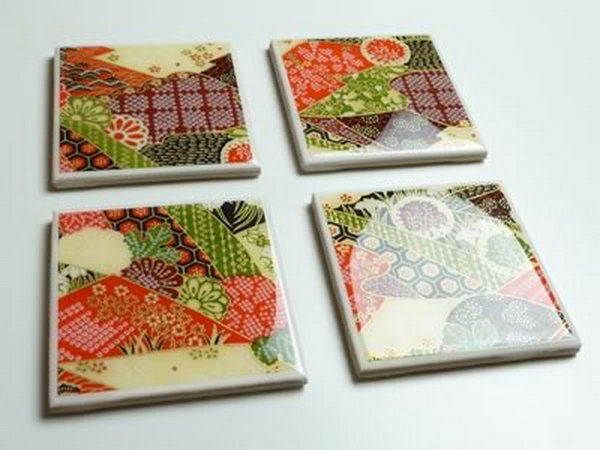 Ceramic Coasters. A set of customized coasters is an awesome present for artsy people. This handmade gift is both practical and decorative.