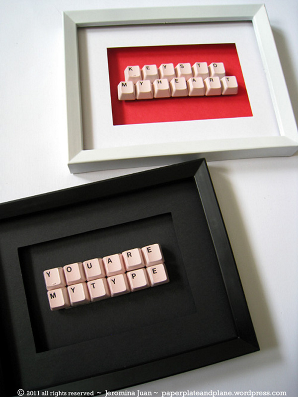 Making This Keyboard Gift Is Super Easy And Quick It A