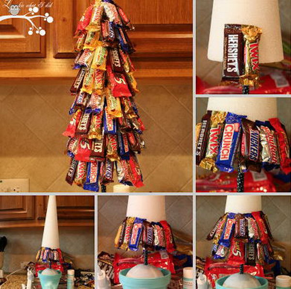 Candy Bar Tree Is A Very Cool Way To Give Bars