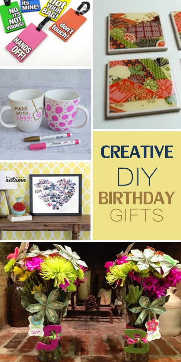 Creative DIY Birthday Gifts - Hative