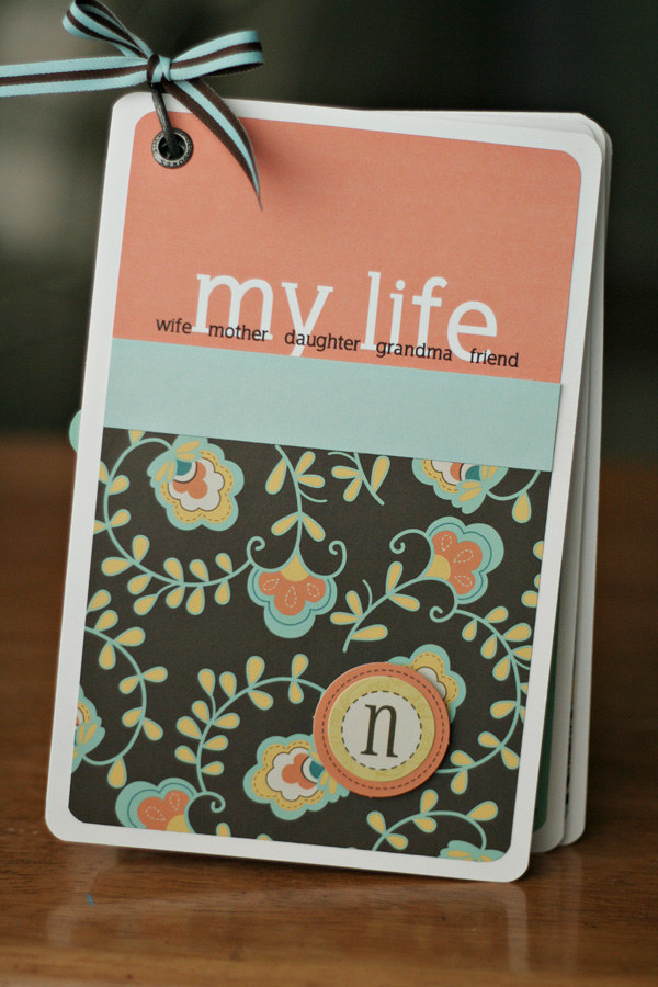 Customized Scrapbook. It is an awesome gift idea to make a unique scrapbook of your mom's life for her. You will have a chance to know your mom better in the process of making the scrapbook.