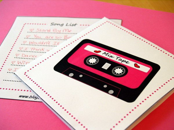 Music Playlist. This is a wonderful gift idea for moms who are a big fun of music. Take some time to put your mom's favoriate songs in one playlist on itunes or other music player.