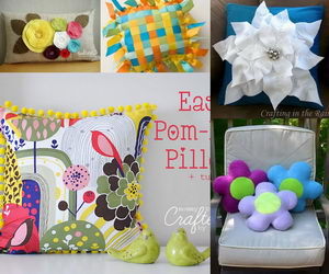diy pillow ideas collage