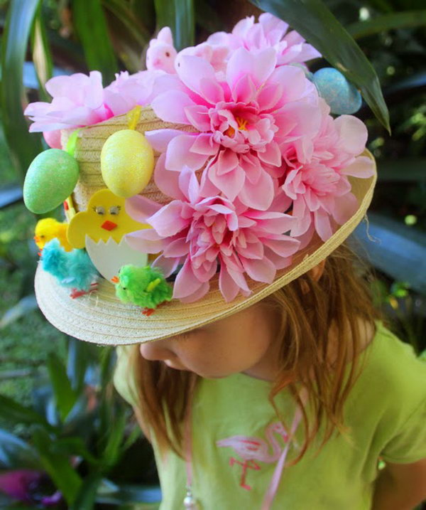 Easter Bunny Ears Plate Hat. Use two simple tools to get this cute plate hat & Cool Easter Bonnet or Hat Ideas - Hative