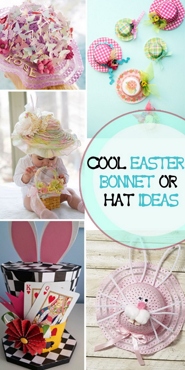 Cool Easter Bonnet Or Hat Ideas
