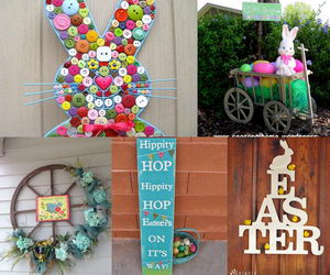 Colorful Crafts For The Garden