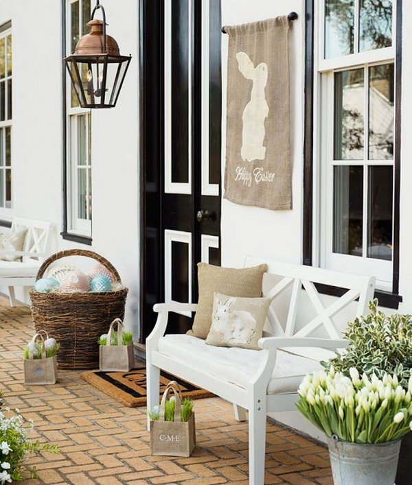 Creative Easter Outdoor Decoration Ideas