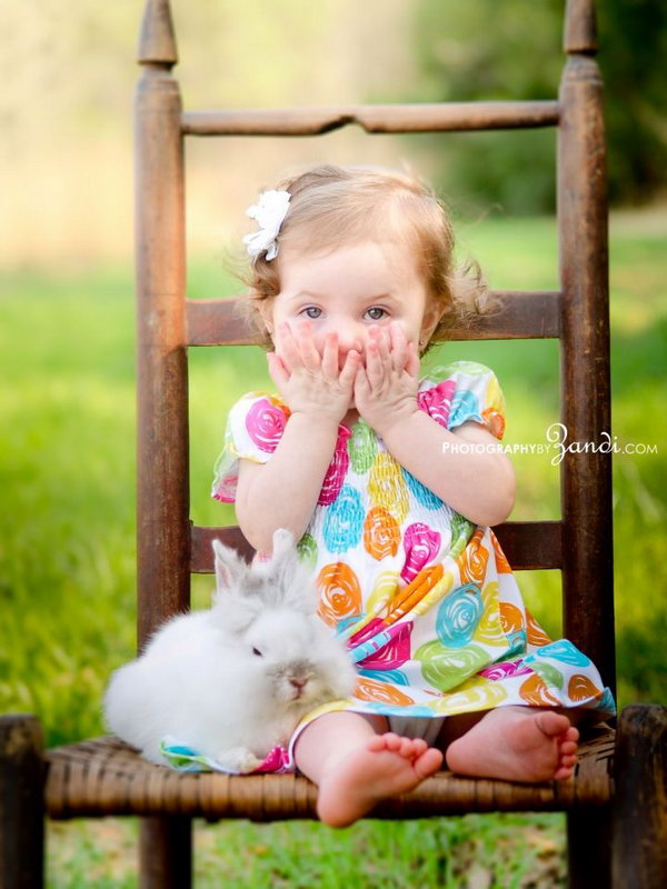 Fun and festive easter photo ideas hative - Photography ideas for girl ...