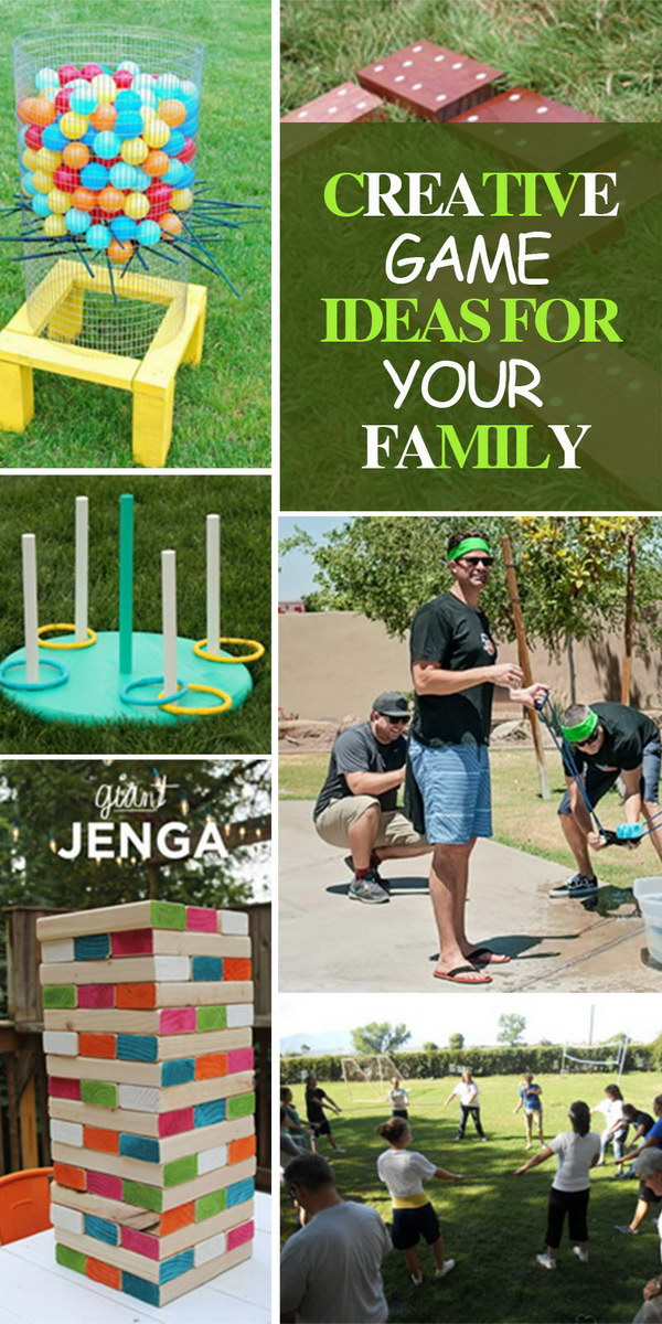 Creative Game Ideas for Your Family!