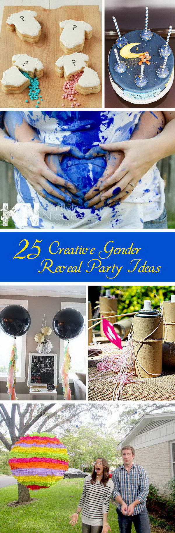 Creative Gender Reveal Party Ideas!