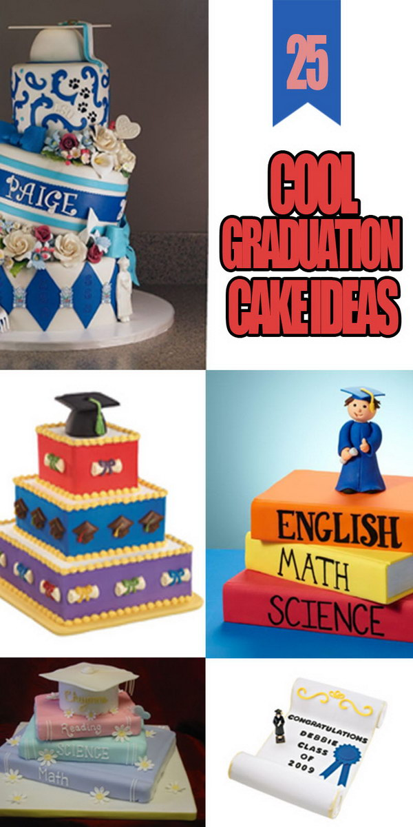 Cool Graduation Cake Ideas!